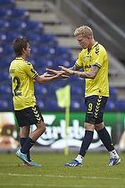 Mathias Gehrt (Br�ndby IF), Simon Makienok Christoffersen (Br�ndby IF)