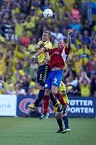 Martin Albrechtsen (Br�ndby IF), S�ren Berg (FC Vestsj�lland)