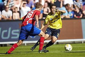 Patrick Da Silva (Br�ndby IF), Morten Bertolt (FC Vestsj�lland)
