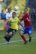 Riza Durmisi (Br�ndby IF), Morten Bertolt (FC Vestsj�lland)