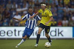 Magnus Lekven (Esbjerg fB), Martin �rnskov (Br�ndby IF)