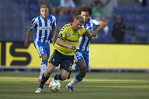 Michael Almeb�ck (Br�ndby IF), Martin Braithwaite (Esbjerg fB)