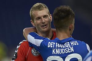 Lukas Hradecky (Br�ndby IF), Jonas Knudsen (Esbjerg fB)