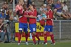 Jean-Claude Bozga, m�lscorer (FC Vestsj�lland), Morten Bertolt (FC Vestsj�lland)