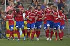 Jean-Claude Bozga, m�lscorer (FC Vestsj�lland), S�ren Berg, anf�rer (FC Vestsj�lland), Thiago Pinto Borges (FC Vestsj�lland), Oliver Lund (FC Vestsj�lland), Lasse Nielsen (FC Vestsj�lland)