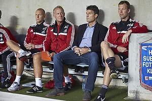 Michael Laudrup, cheftr�ner (Swansea City FC), Morten Wieghorst, assistenttr�ner (Swansea City FC)