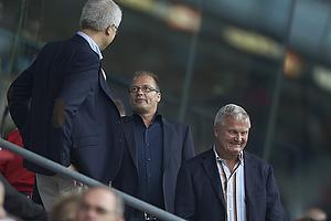Tommy Sommer H�kansson, adm. direkt�r (Br�ndby IF), Aldo Petersen, bestyrelsesformand (Br�ndby IF)