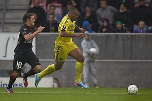 Kenneth Zohore (Br�ndby IF), Erik Sviatchenko (FC Midtjylland)