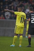 Kenneth Zohore (Br�ndby IF), Patrick Banggaard Jensen (FC Midtjylland)