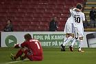 Nicolai J�rgensen, m�lscorer (FC K�benhavn), Cristian Bolanos (FC K�benhavn)