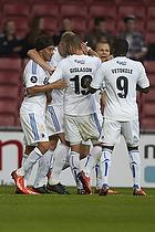 Nicolai J�rgensen, m�lscorer (FC K�benhavn), Rurik Gislason (FC K�benhavn), Cristian Bolanos (FC K�benhavn), Lars Jacobsen (FC K�benhavn), Igor Vetokele (FC K�benhavn)