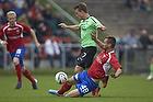 Emil Larsen (Ob), Oliver Lund (FC Vestsj�lland)