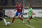 Morten Skoubo (Ob), Oliver Lund (FC Vestsj�lland)