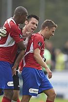 Thomas Mikkelsen (FC Vestsj�lland), Rasmus Festersen, m�lscorer (FC Vestsj�lland)