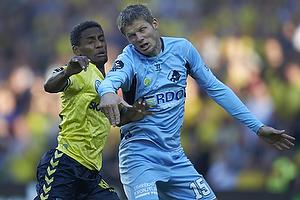 Quincy Antipas (Br�ndby IF), Chris S�rensen (Randers FC)