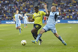 Quincy Antipas (Br�ndby IF), Johnny Thomsen (Randers FC)