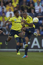 Kenneth Zohore (Br�ndby IF), Quincy Antipas (Br�ndby IF)