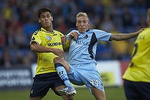 Dario Dumic (Br�ndby IF), Nicolai Brock-Madsen (Randers FC)