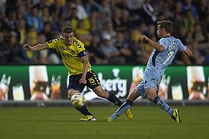 Mikkel Thygesen (Br�ndby IF), Elmar Bjarnason (Randers FC)