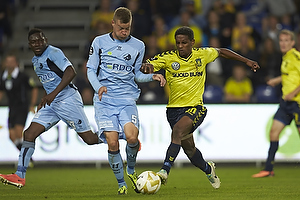 Quincy Antipas (Br�ndby IF), Martin Albrechtsen (Br�ndby IF)