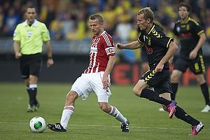 Rasmus W�rtz, anf�rer (Aab), Thomas Kahlenberg (Br�ndby IF)