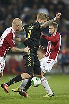 Rasmus Thelander (Aab), Simon Makienok Christoffersen (Br�ndby IF)