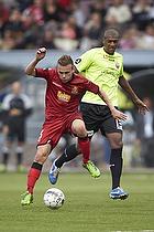 Mario Ticinovic (FC Nordsj�lland), Jean-Claude Bozga (FC Vestsj�lland)