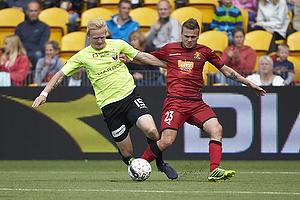 Mario Ticinovic (FC Nordsj�lland), Jonas Thomsen (FC Vestsj�lland)