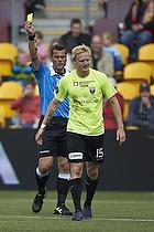 Jonas Thomsen (FC Vestsj�lland), Michael Tykgaard, dommer