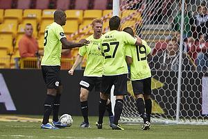 Jan Kristiansen (FC Vestsj�lland), Thiago Pinto Borges (FC Vestsj�lland)