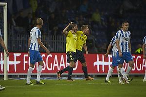 Martin �rnskov, m�lscorer (Br�ndby IF), Martin Albrechtsen (Br�ndby IF)