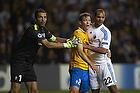 Gianluigi Buffon, anf�rer (Juventus FC), Daniel Braater (FC K�benhavn)