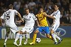 Pierre Bengtsson (FC K�benhavn), Arturo Vidal (Juventus FC), Thomas Delaney (FC K�benhavn)