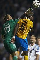 Johan Wiland (FC K�benhavn), Paul Pogba (Juventus FC)