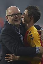 Alexander Szymanowski (Br�ndby IF), Per Rud, sportschef (Br�ndby IF)