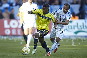 Quincy Antipas (Br�ndby IF), Daniel Omoya Braater (FC K�benhavn)
