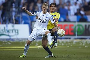 Nicolai J�rgensen (FC K�benhavn), Dario Dumic (Br�ndby IF)