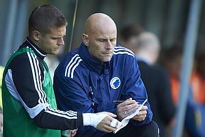 St�le Solbakken, cheftr�ner (FC K�benhavn), Rurik Gislason (FC K�benhavn)