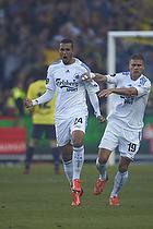 Youssef Toutouh, m�lscorer (FC K�benhavn), Rurik Gislason (FC K�benhavn)