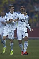 Youssef Toutouh, m�lscorer (FC K�benhavn), Thomas Kristensen (FC K�benhavn)