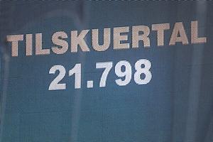 Tilskuertal 21.798