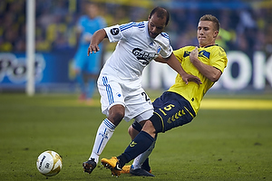 Martin Albrechtsen (Br�ndby IF), Daniel Omoya Braater (FC K�benhavn)
