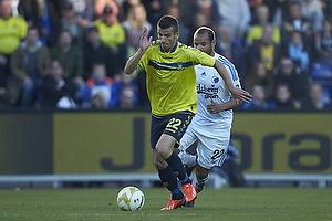 Ferhan Hasani (Br�ndby IF), Daniel Omoya Braater (FC K�benhavn)