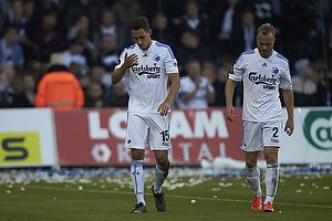 Georg Margreitter, anf�rer (FC K�benhavn), Lars Jacobsen, anf�rer (FC K�benhavn)