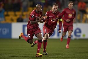 Joshua John, m�lscorer (FC Nordsj�lland), Nikolaj Stokholm, anf�rer (FC Nordsj�lland)