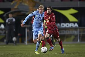 Nicolai Brock-Madsen (Randers FC), Martin Vingaard (FC Nordsj�lland)