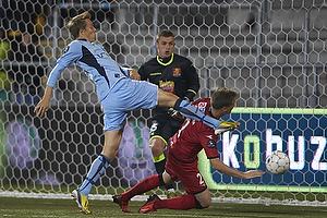 Martin Hansen (FC Nordsj�lland), Michael Jakobsen (FC Nordsj�lland)