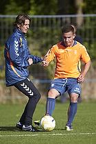 Thomas Frank, cheftr�ner (Br�ndby IF), Maikon Orellana (Br�ndby IF)