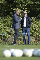 Anders Bay, kommunikations-marketingdirekt�r (Br�ndby IF), Per Rud, sportschef (Br�ndby IF)