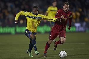 Quincy Antipas (Br�ndby IF), Nikolaj Stokholm, anf�rer (FC Nordsj�lland)